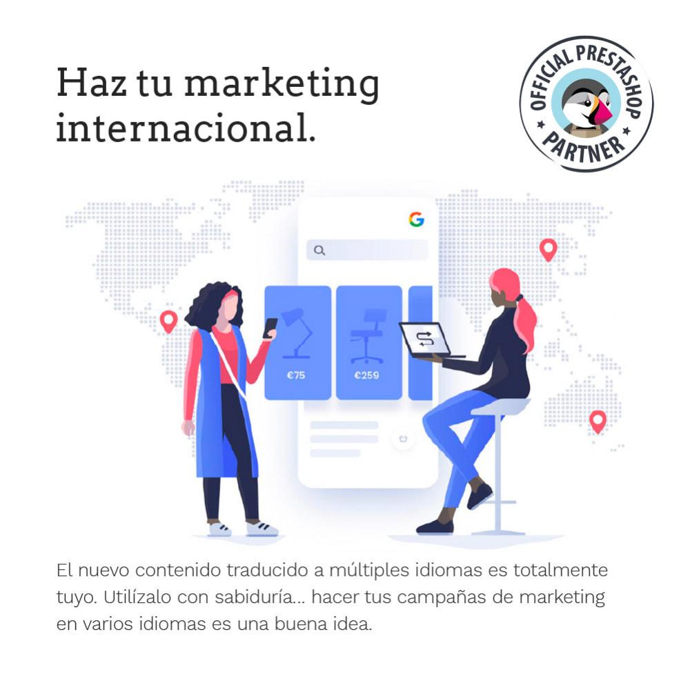 module - Internacionalización y Localización - Glotio - Traduce tu PrestaShop a más de 50 idiomas - 12