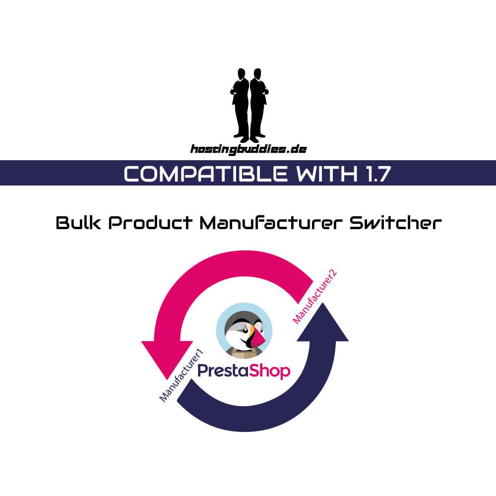 module - Merken & Fabrikanten - Bulk Product Manufacturer Switcher - 1