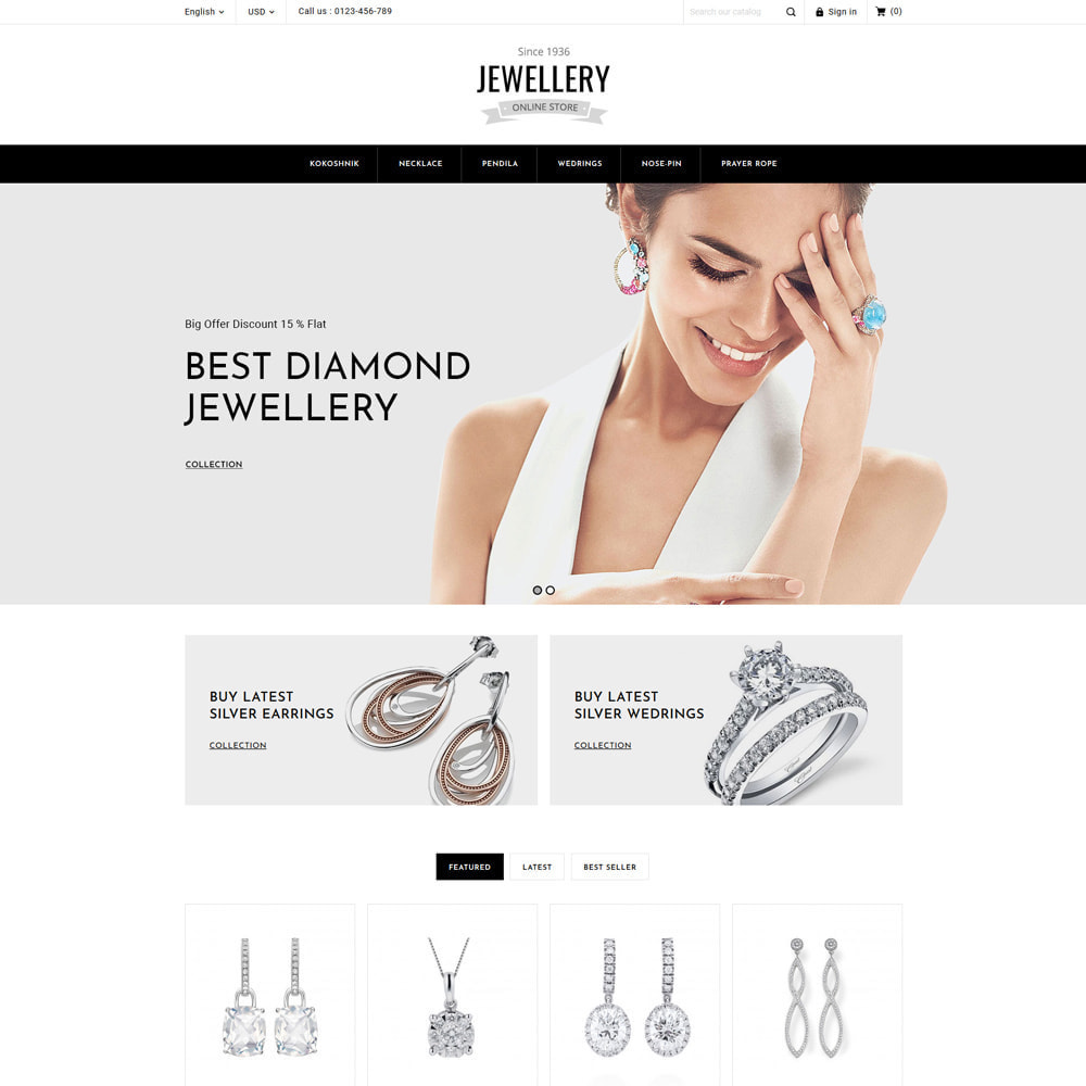 theme - Bijoux & Accessoires - Jewelry & Accessories Store - 4
