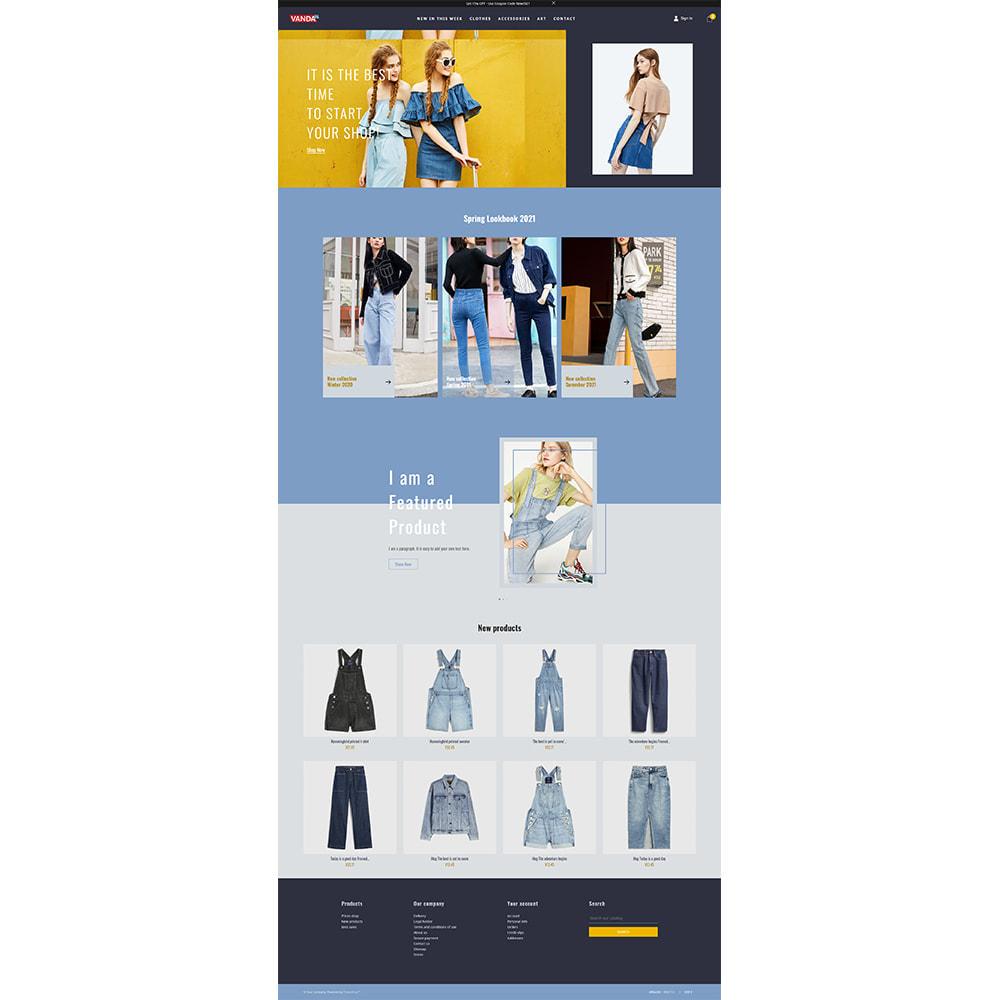 theme - Fashion & Shoes - Vanda Denim Shop - 7