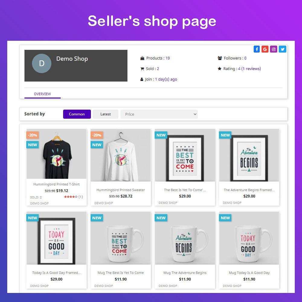 module - Marketplace Creation - Simple Multi Vendor Ecommerce Marketplace - 2