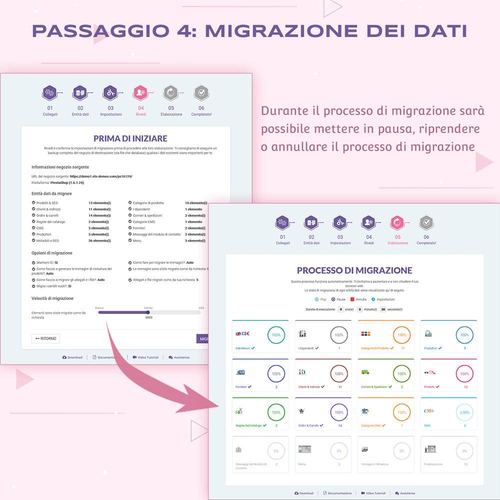 module - Data Migration & Backup - PrestaShop Migrator - aggiornare PrestaShop alla 1.7 - 11
