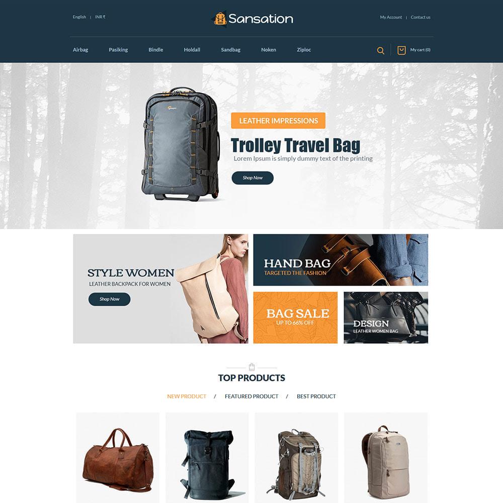 theme - Mode & Schuhe - Sansation Bag - Handtasche Leder Modegeschäft - 3