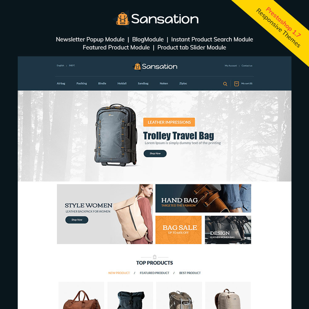 theme - Moda & Obuwie - Torba Sansation - Torebka Skórzana Fashion Store - 2