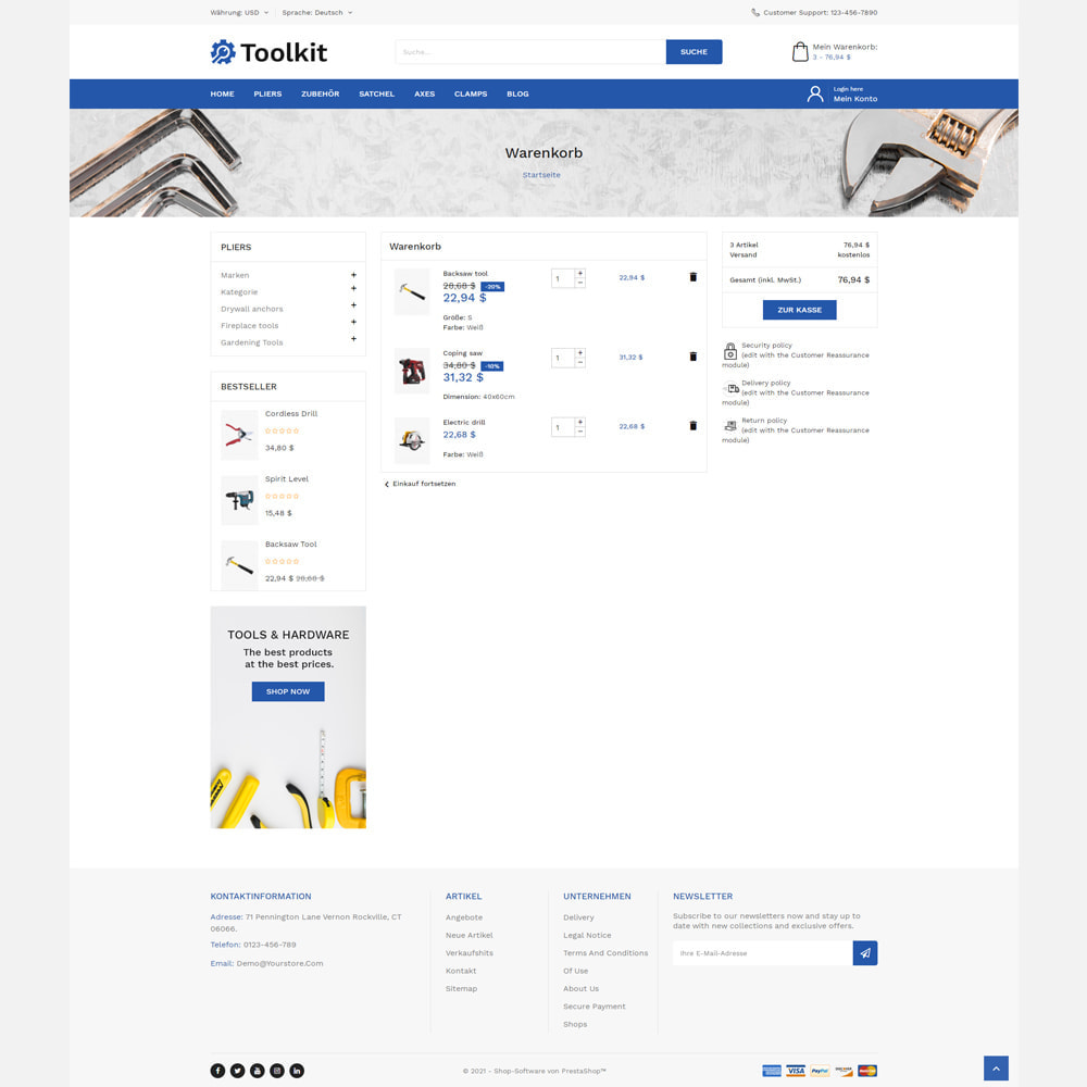 theme - Autos & Motorräder - Toolkit Geschäft - 6