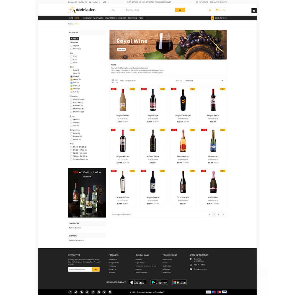 theme - Napoje & Wyroby tytoniowe - Weinladen - The Wine International Shop - 3