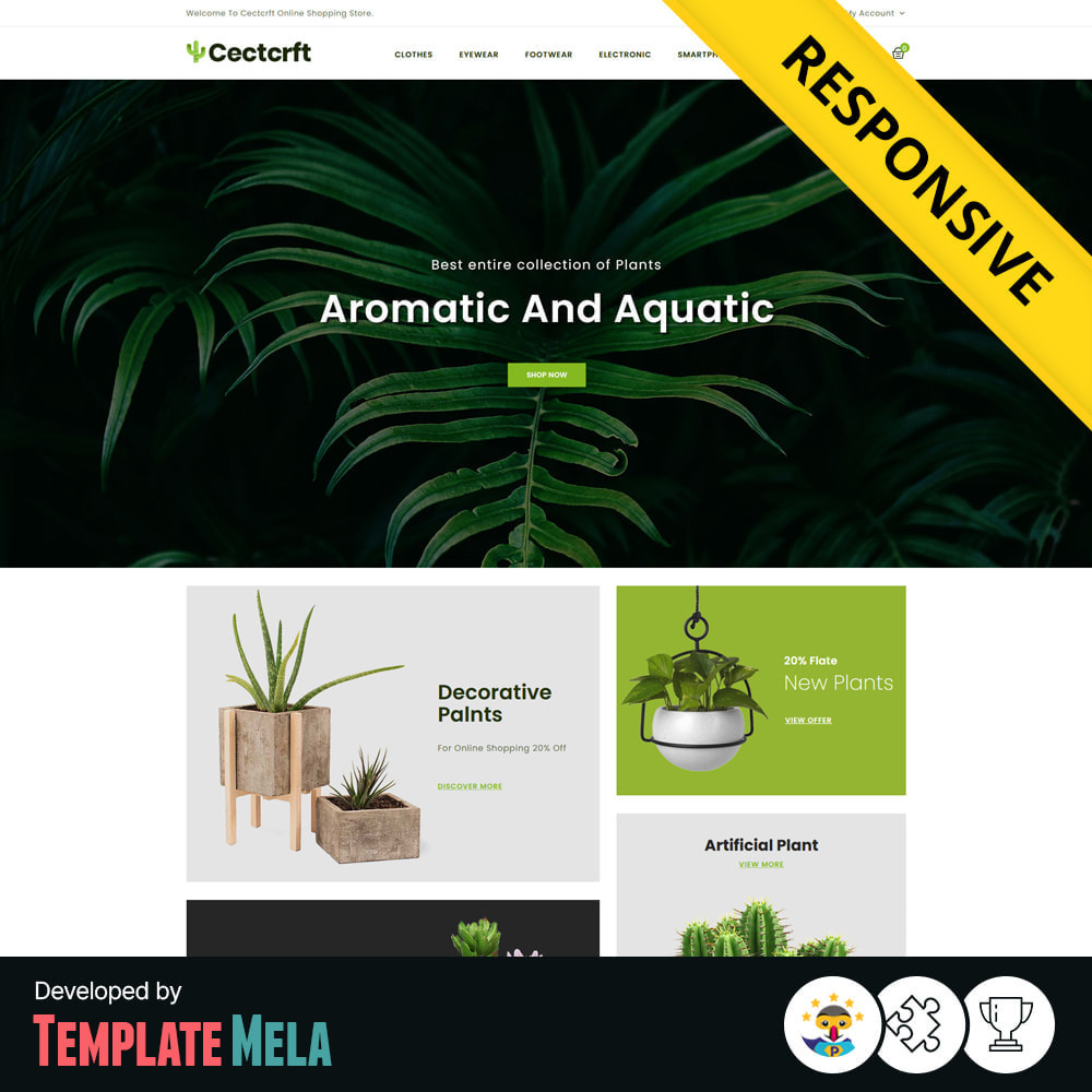 theme - Casa & Jardins - Cectcrft - Garden and Plants Store - 1