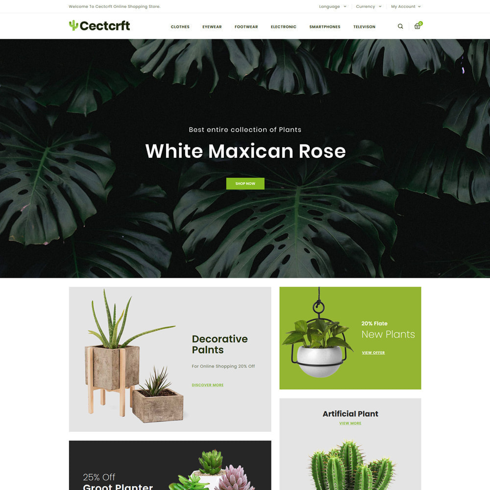 theme - Casa & Jardins - Cectcrft - Garden and Plants Store - 2