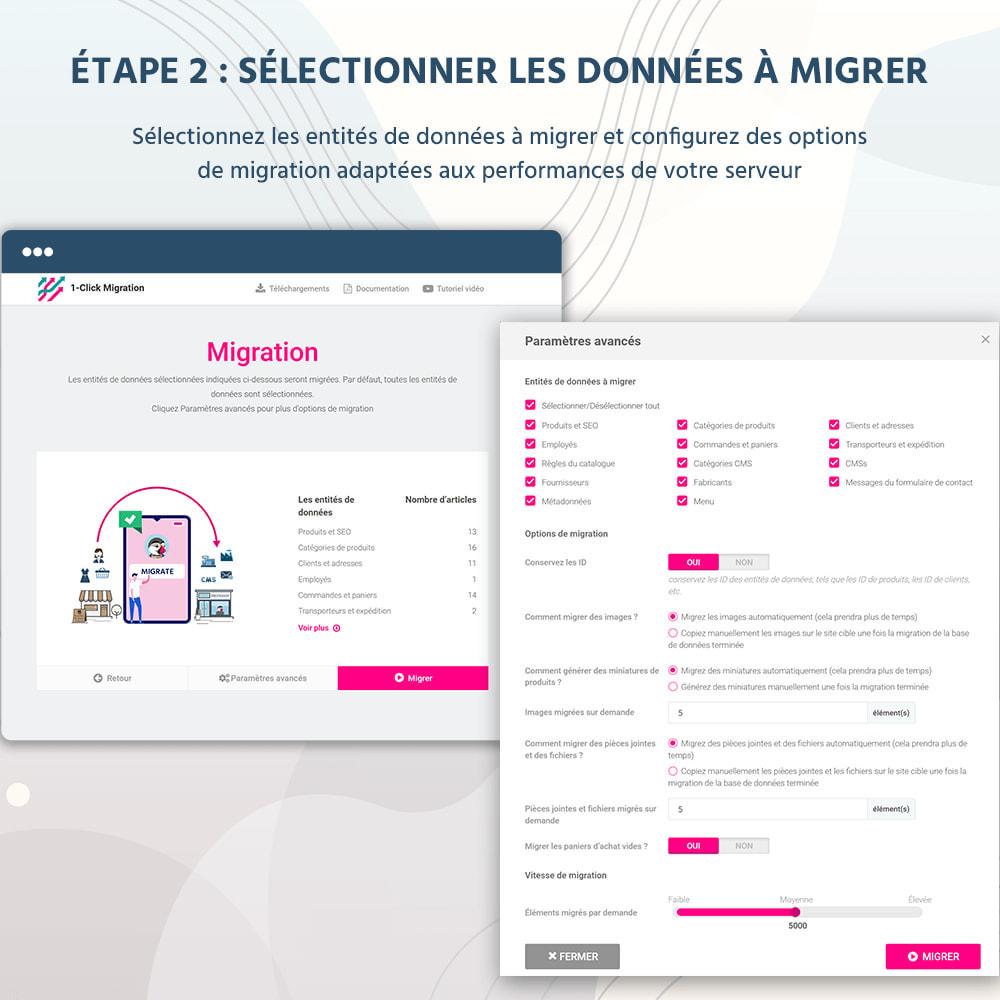 module - Migration de Données & Sauvegarde - 1 CLIQUEZ pour migrer ou mettre à niveau - 9