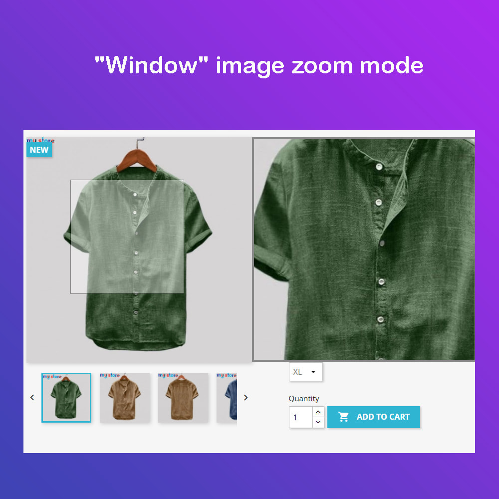 module - Visual Products - Advanced Product Images: Magic Zoom, 360 Image, Video - 1