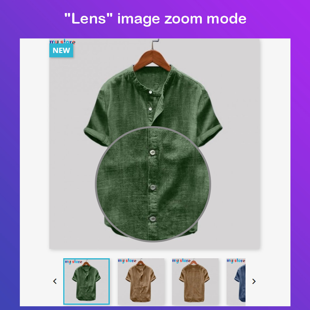 module - Visual Products - Advanced Product Images: Magic Zoom, 360 Image, Video - 2