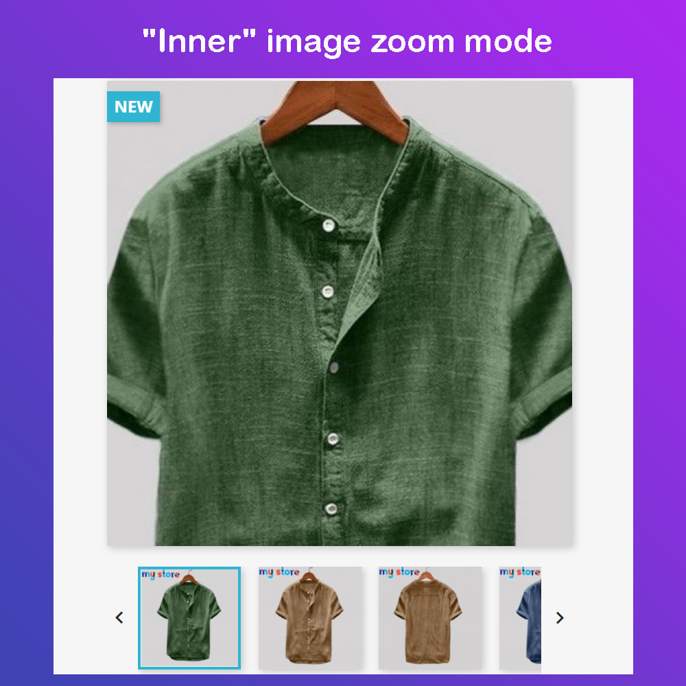 module - Visual Products - Advanced Product Images: Magic Zoom, 360 Image, Video - 3