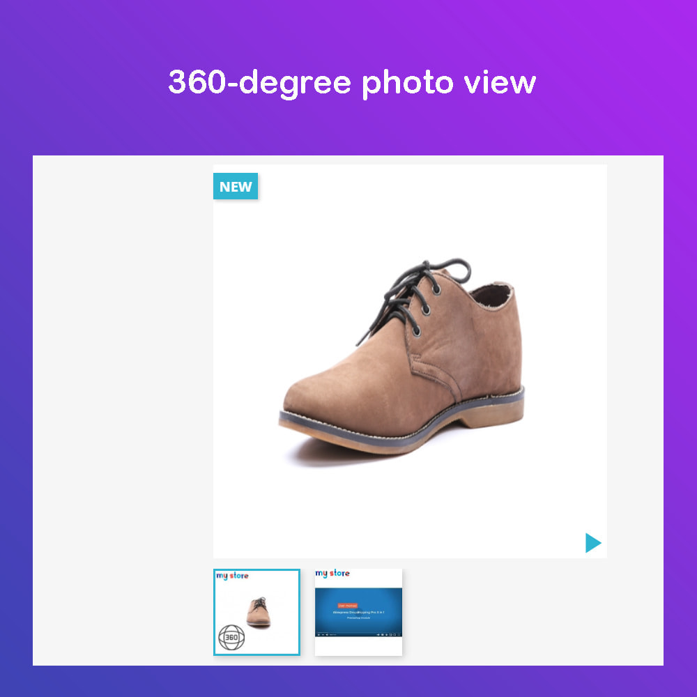 module - Visual Products - Advanced Product Images: Magic Zoom, 360 Image, Video - 4