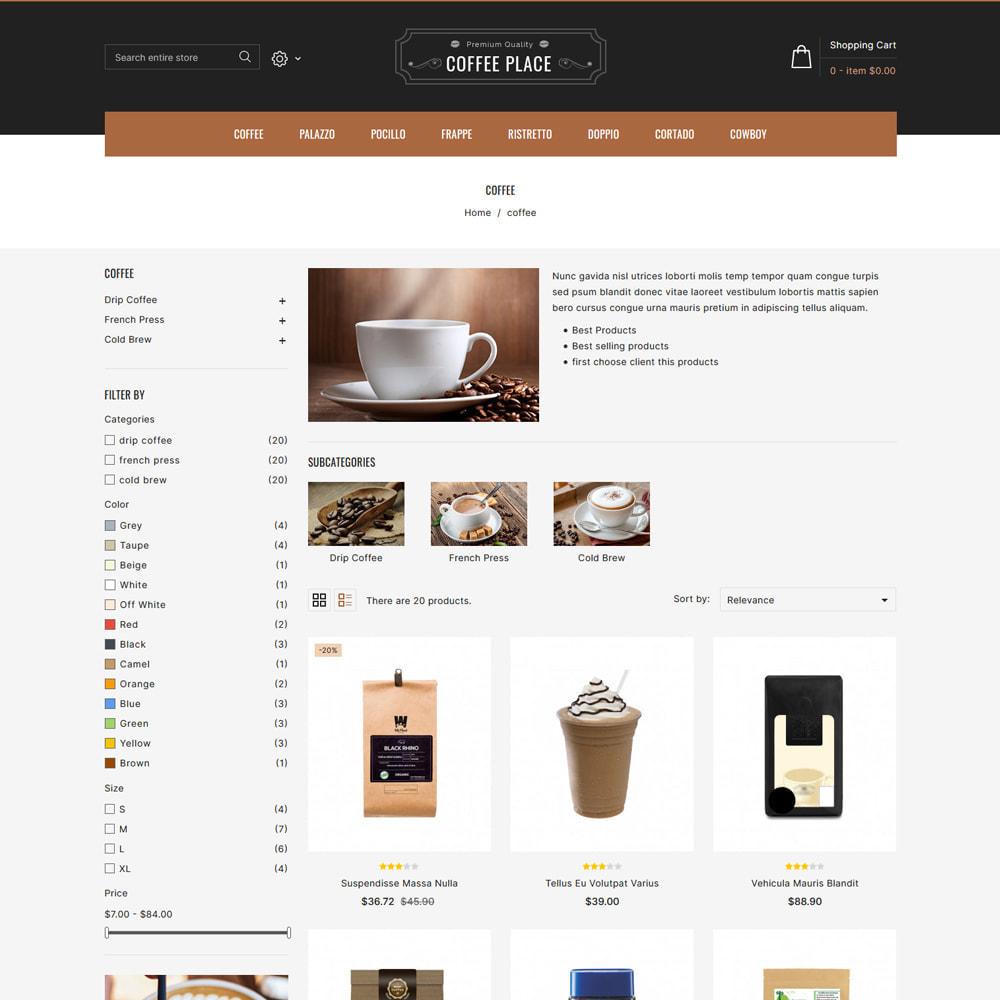 theme - Cibo & Ristorazione - Coffee Place - Coffee & Cake Shop - 3
