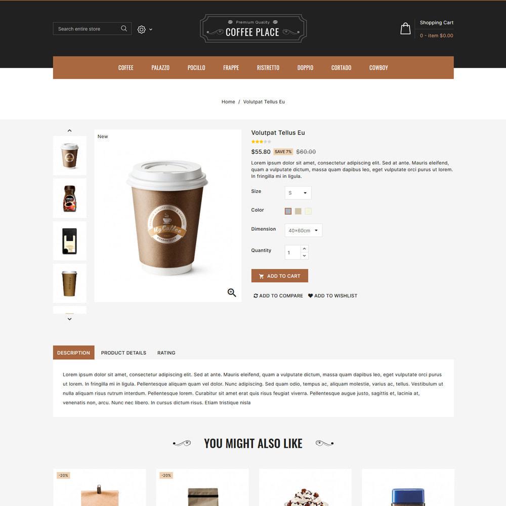 theme - Cibo & Ristorazione - Coffee Place - Coffee & Cake Shop - 4
