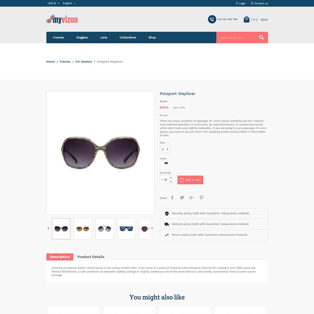 theme - Biżuteria & Akcesoria - Myvizion Eyecare - Sklep z soczewkami okularów - 6