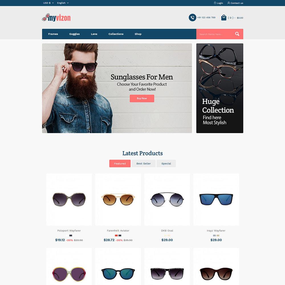 theme - Bellezza & Gioielli - Myvizion Eyecare - Negozio di lenti per occhiali - 3