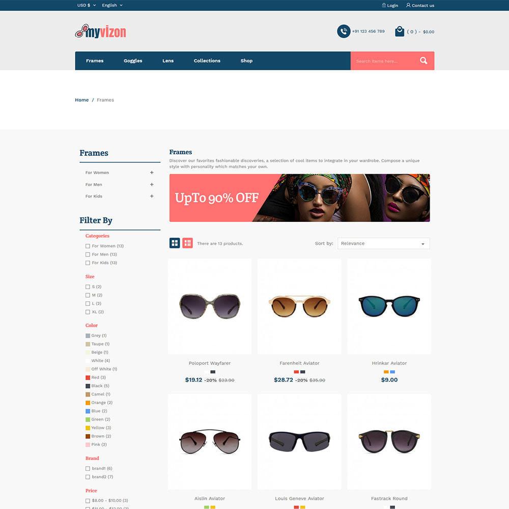 theme - Bellezza & Gioielli - Myvizion Eyecare - Negozio di lenti per occhiali - 4
