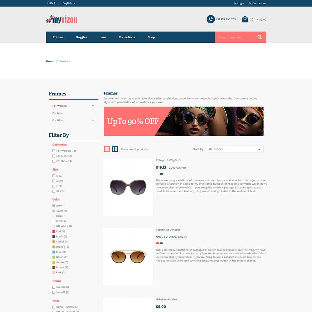 theme - Bellezza & Gioielli - Myvizion Eyecare - Negozio di lenti per occhiali - 5