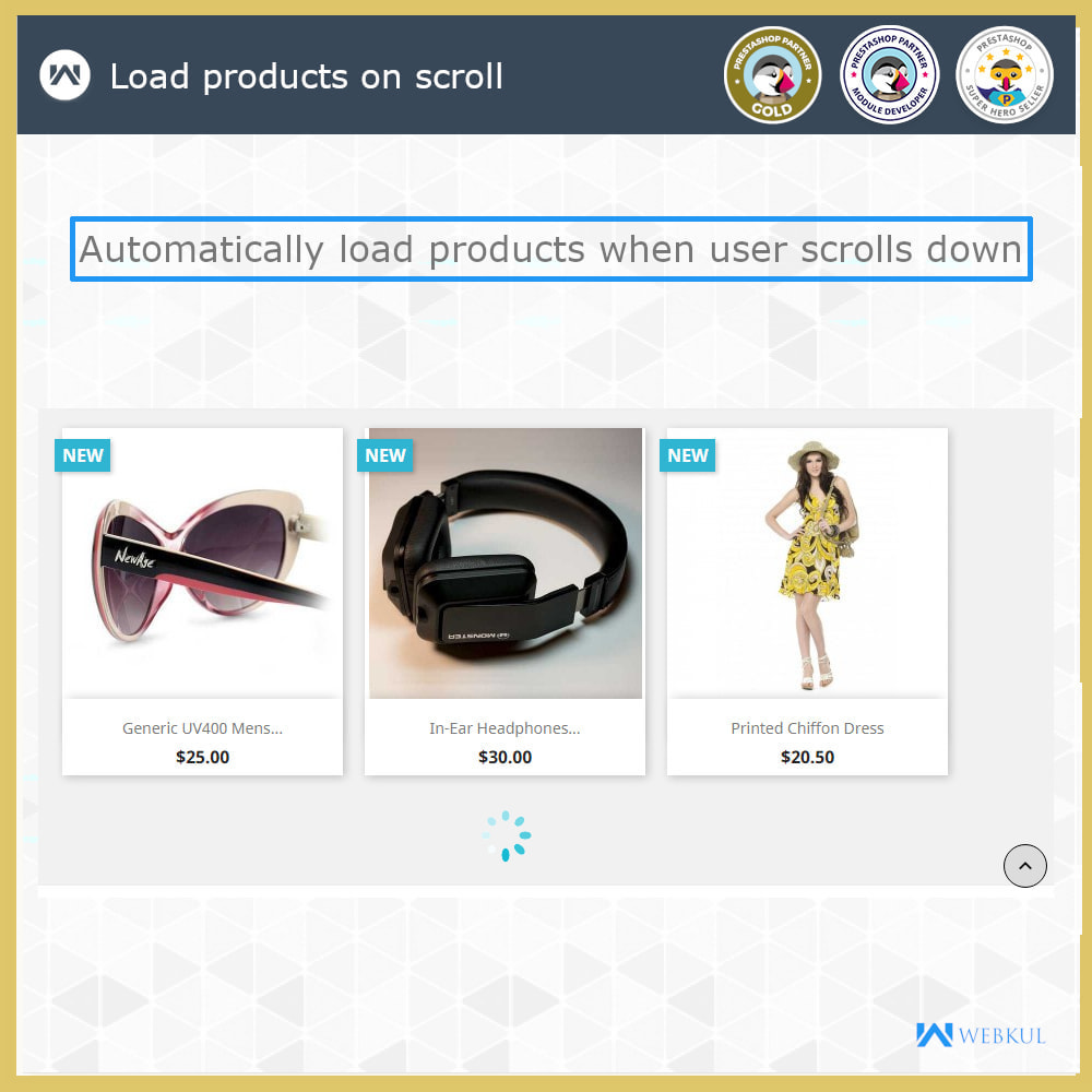 module - Navigation Tools - Infinite Scroll | Load More Products - 4