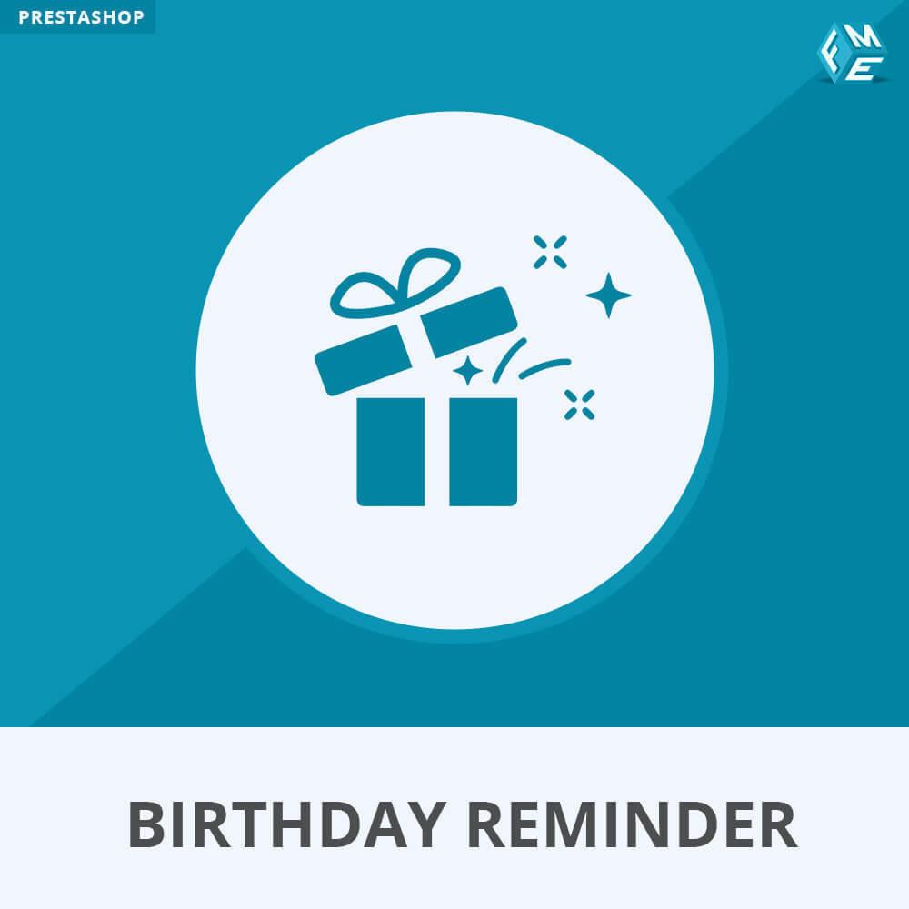 module - Remarketing & Paniers Abandonnés - Birthday Reminder - 1