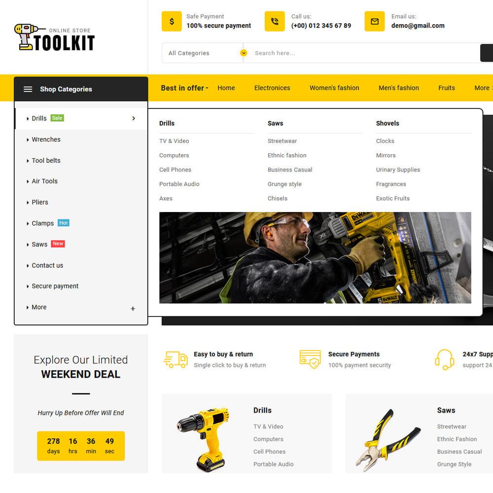 theme - Electronics & Computers - Toolkit - Mega Tools Store - 15