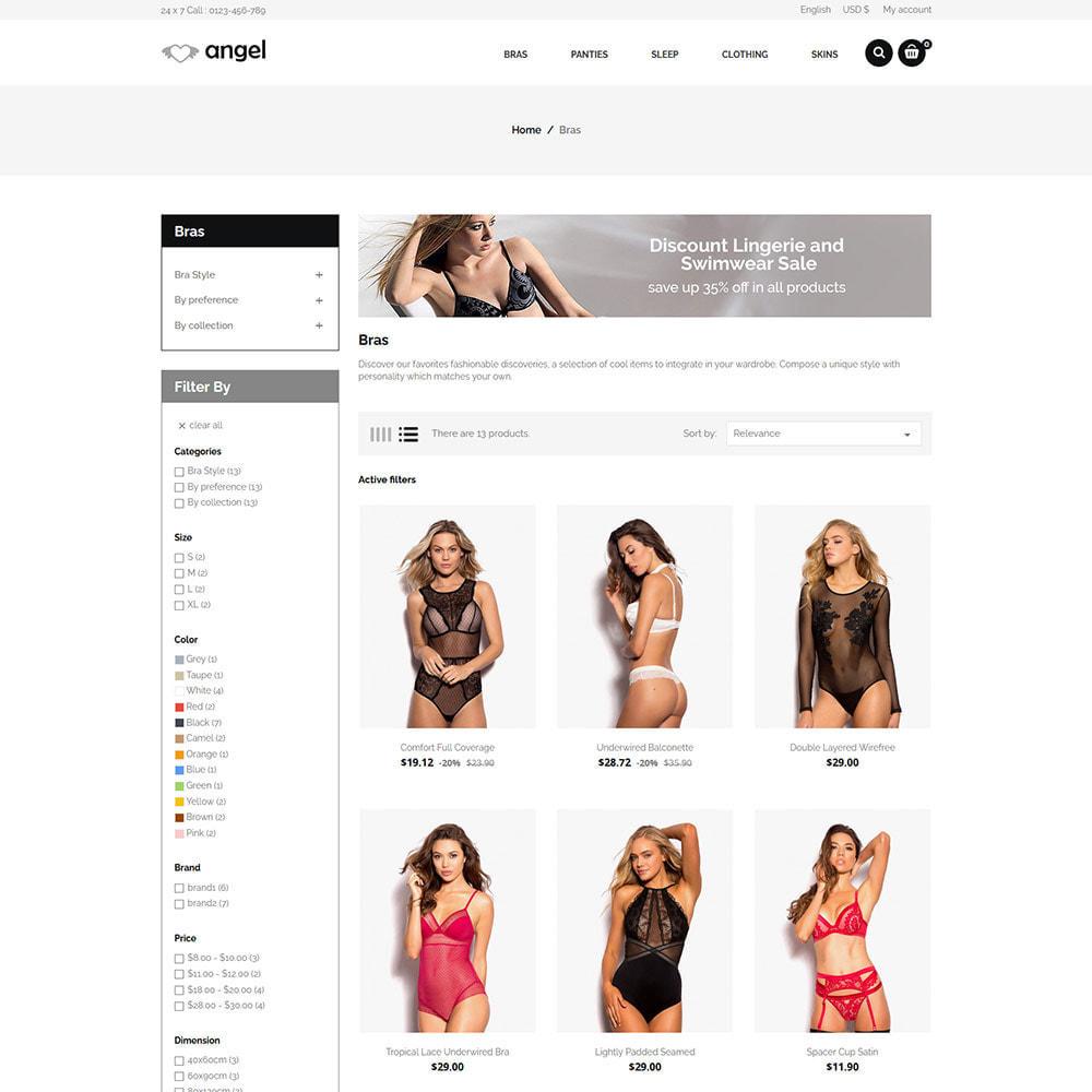 theme - Lingerie & Adulte - Lingerie  - Magasin d'attractions sexuelles en bikini - 5