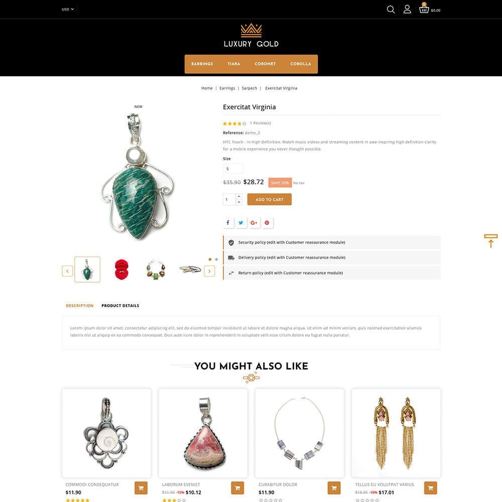 theme - Schmuck & Accesoires - Luxury gold - Jewellery Store - 5
