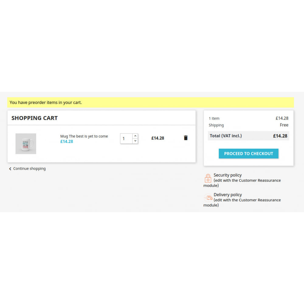 module - Order Management - Pre Order Product | Advance Selling - 6