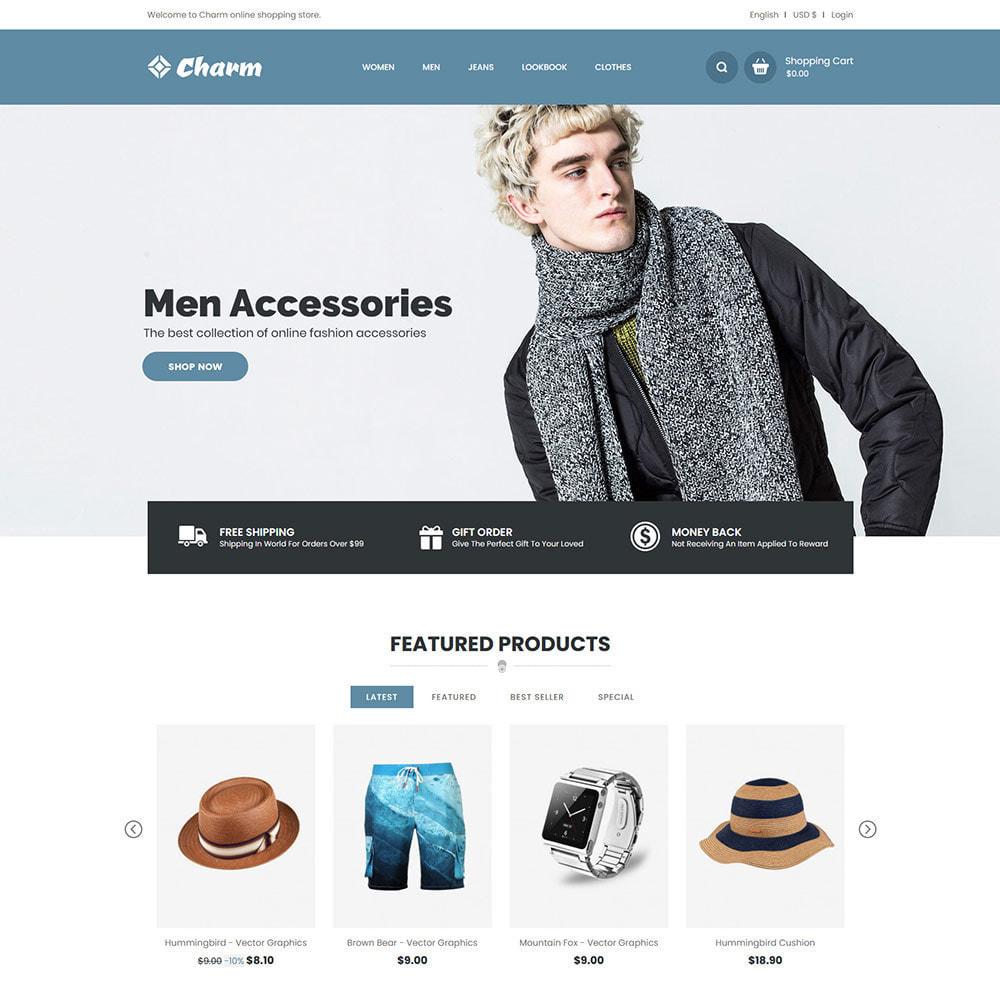 theme - Mode & Chaussures - Charm Fashion - Boutique de créateurs de vêtements - 3