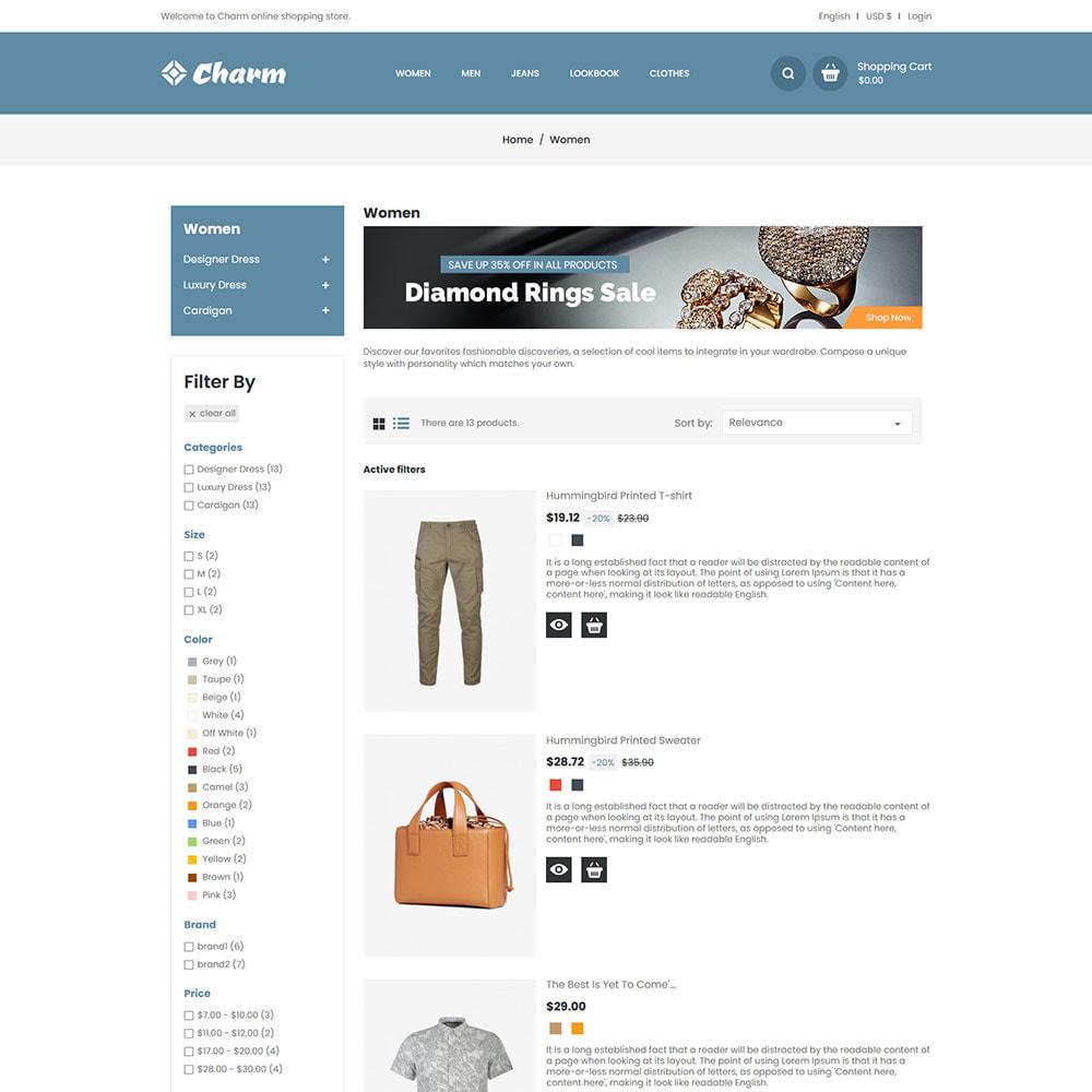 theme - Mode & Chaussures - Charm Fashion - Boutique de créateurs de vêtements - 5