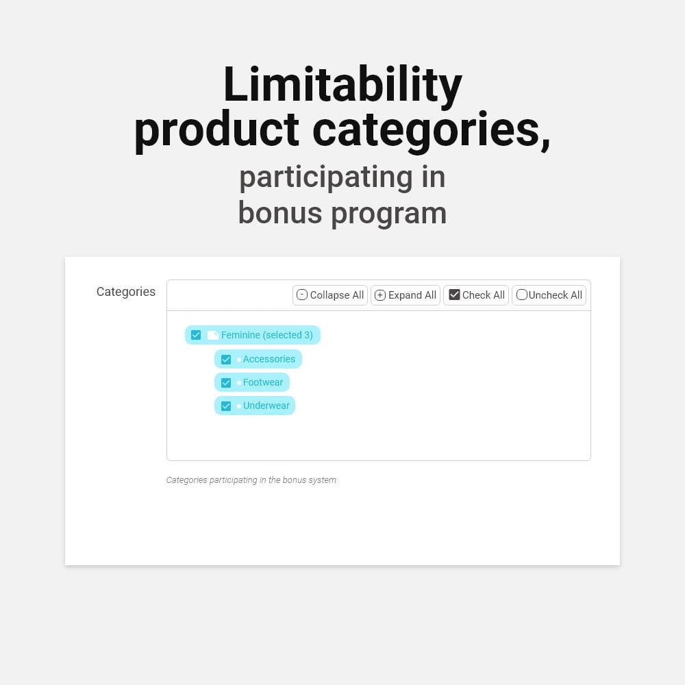 module - Empfehlungs- & Kundenbindungsprogramme - Bonus cashback sustem - 14