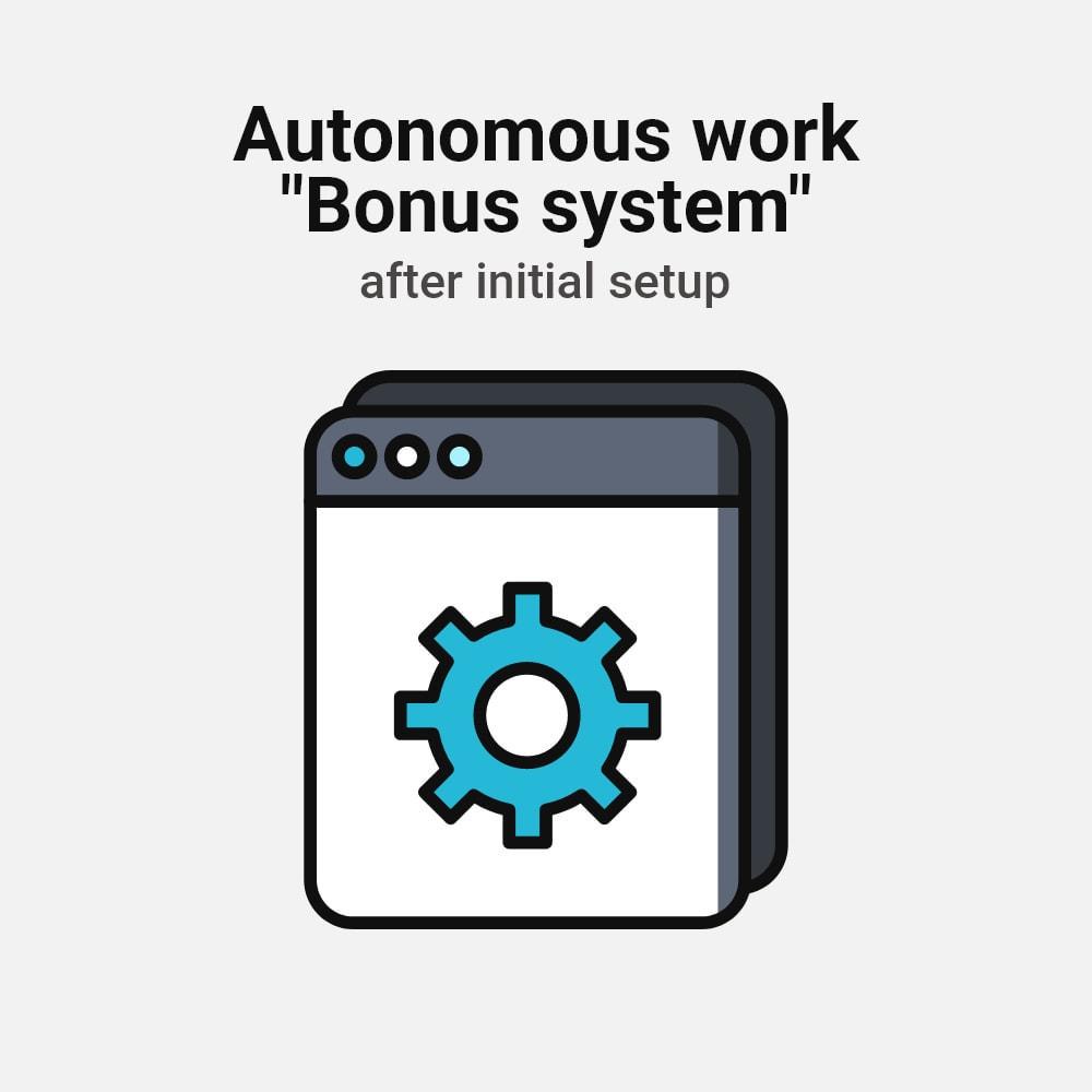 module - Empfehlungs- & Kundenbindungsprogramme - Bonus cashback sustem - 18