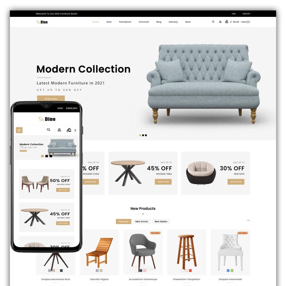 theme - Heim & Garten - Dine - Furniture Store - 1