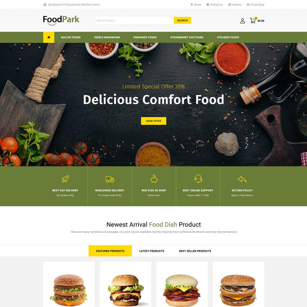 theme - Eten & Restaurant - Food Park - Food & Restaurant Store - 2