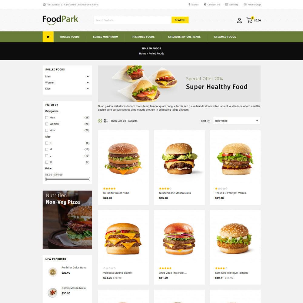 theme - Eten & Restaurant - Food Park - Food & Restaurant Store - 3