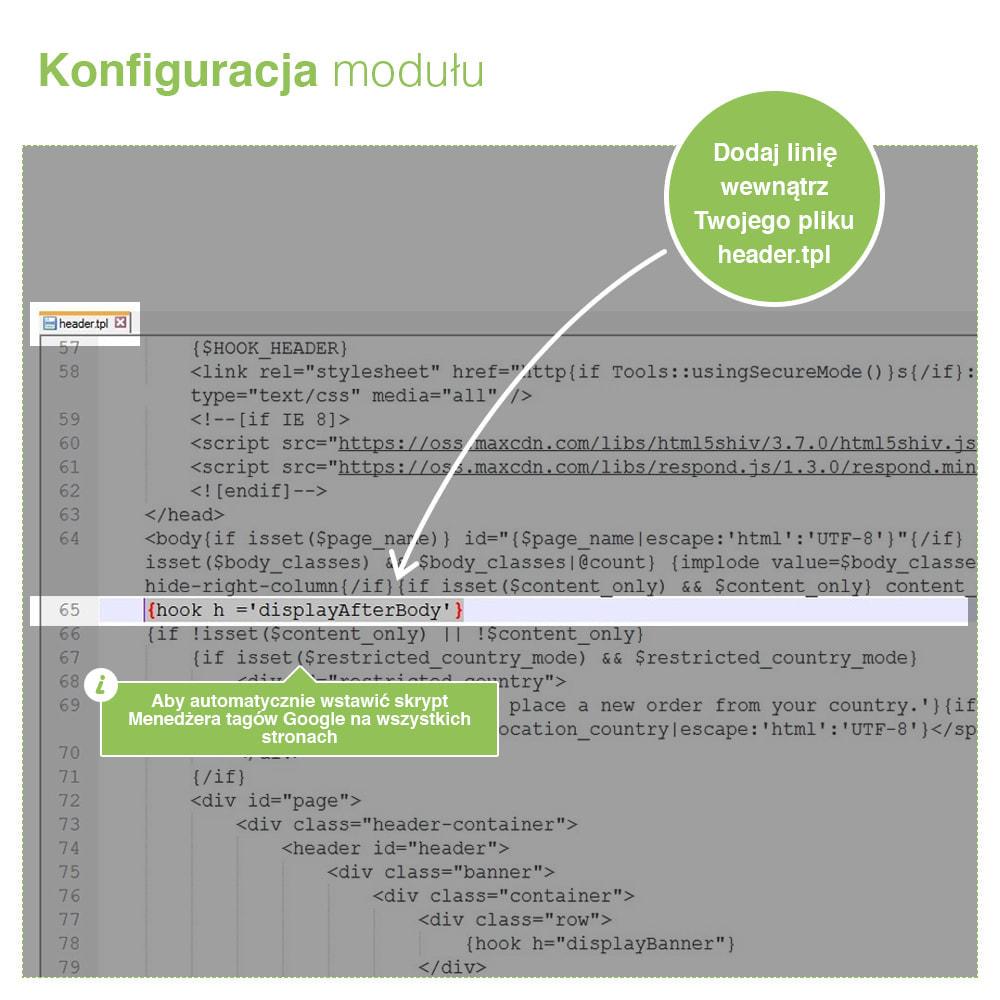 module - Analizy & Statystyki - Google Tag Manager - PRO - 3