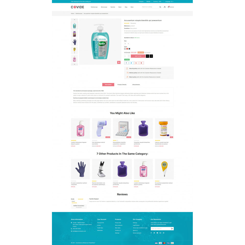 theme - Health & Beauty - Covide - Health & Drugs Store - 5