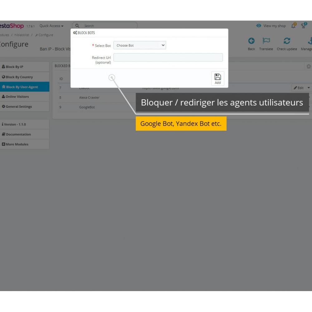 module - Sécurité & Accès - Interdire IP et Afficher Localisation / Adresse - 6