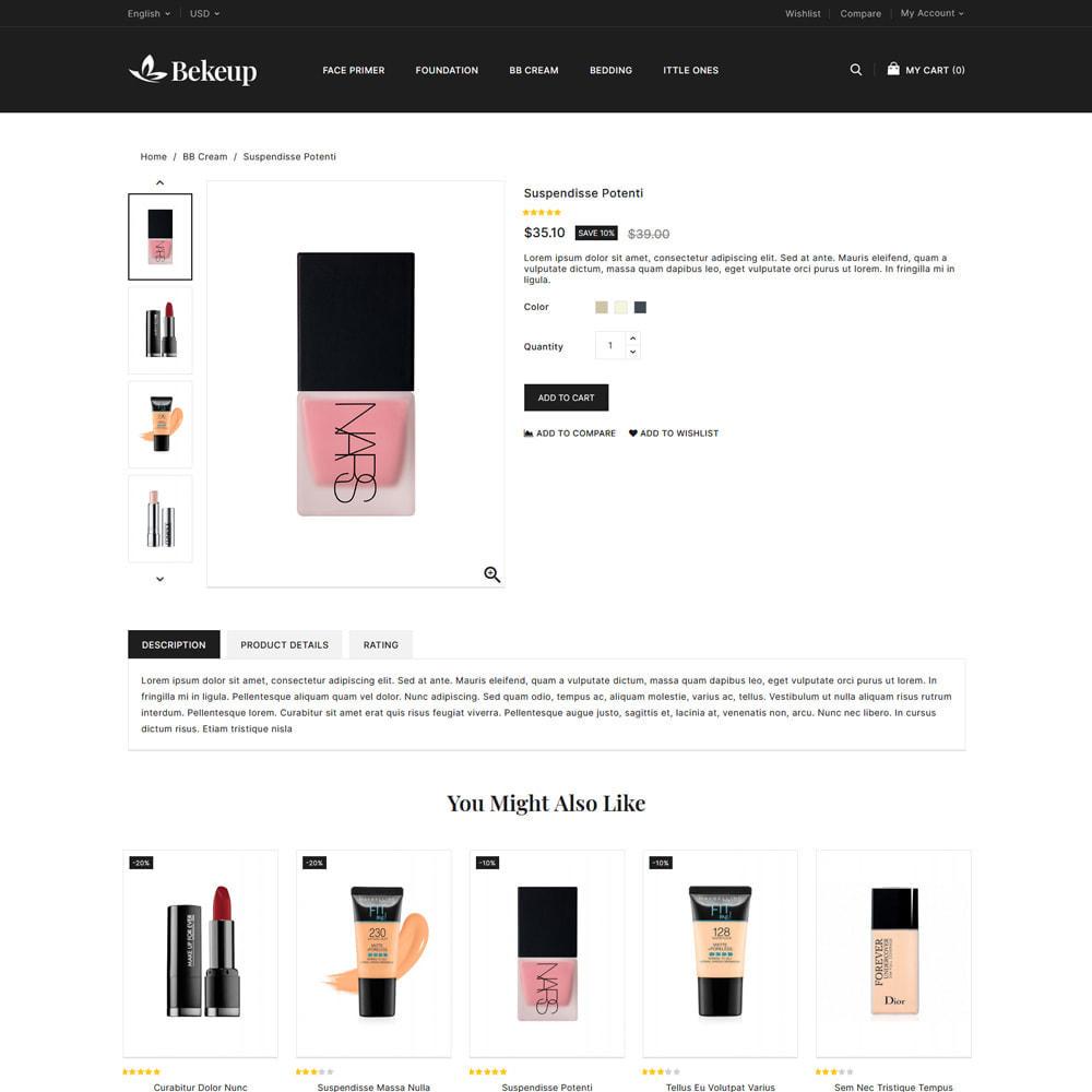 theme - Gezondheid & Schoonheid - Bekeup Cosmetics & Beauty Store - 4