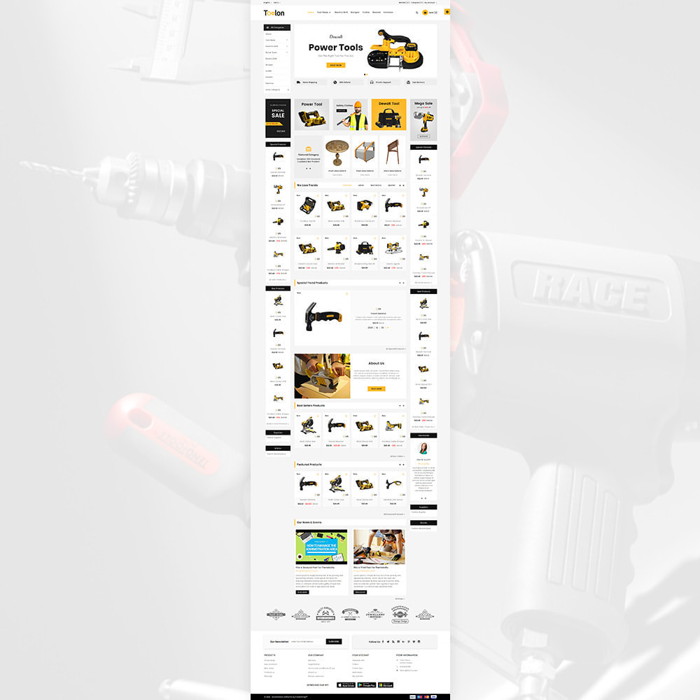 theme - Autos & Motorräder - Toolon Mega Tools Super Store - 2