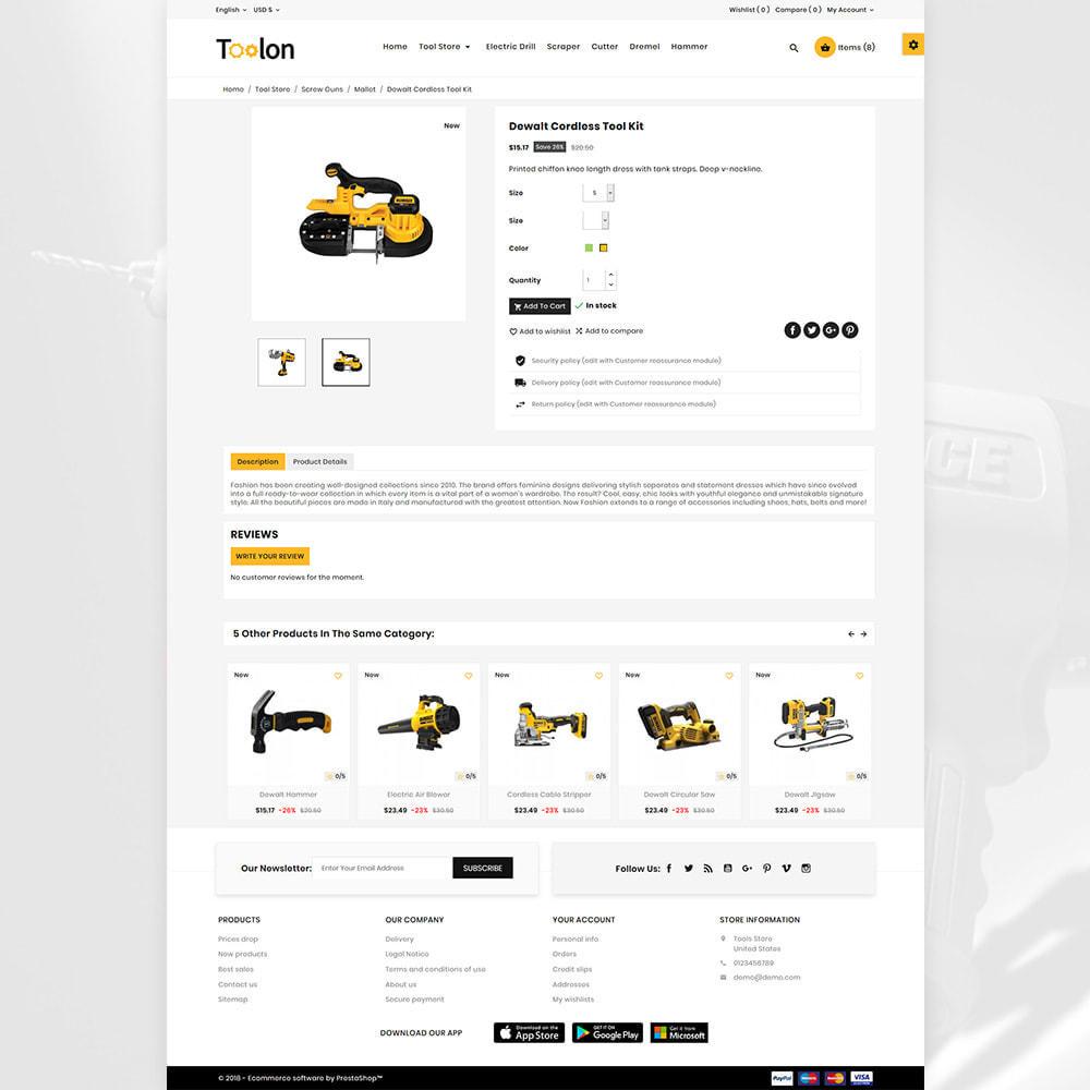 theme - Autos & Motorräder - Toolon Mega Tools Super Store - 4
