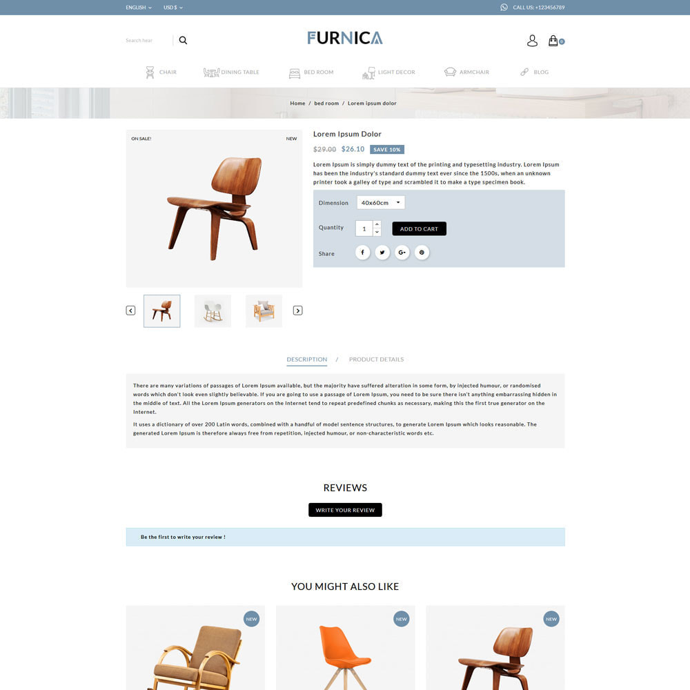 theme - Heim & Garten - Furnica - Furniture Shop - 4