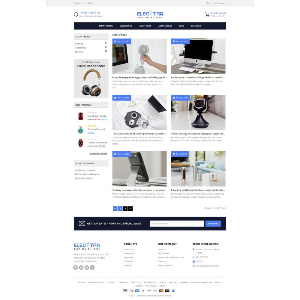 theme - Eletrônicos & High Tech - Electra - Electronics Store - 9