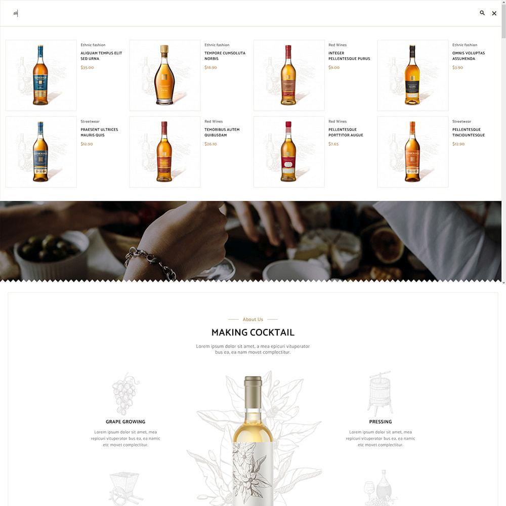 theme - Bebidas y Tabaco - Cocktail - Wine – Alcohol Cigarettes Drink Store - 11