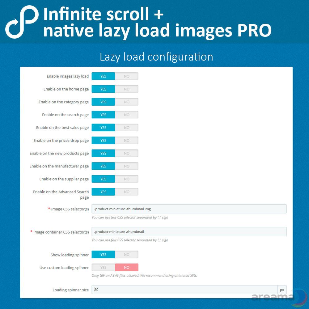 module - Tool di navigazione - Infinite scroll + native lazy load images PRO - 5