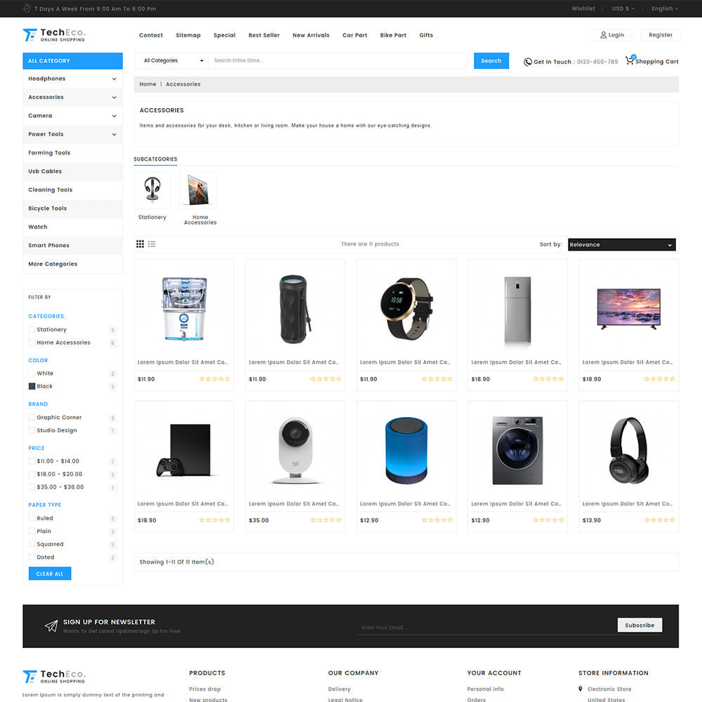 theme - Eletrônicos & High Tech - TechEco  - The Online Shopping - 10