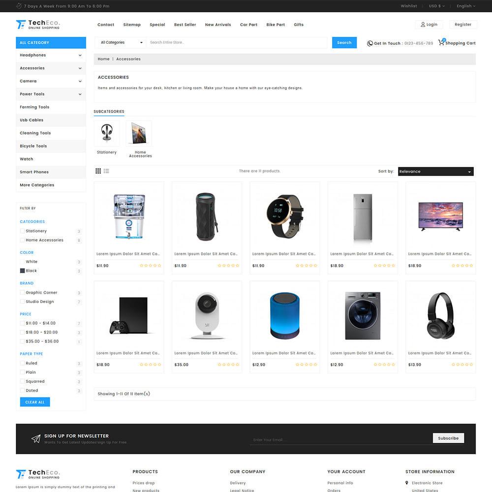 theme - Elettronica & High Tech - TechEco  - The Online Shopping - 10
