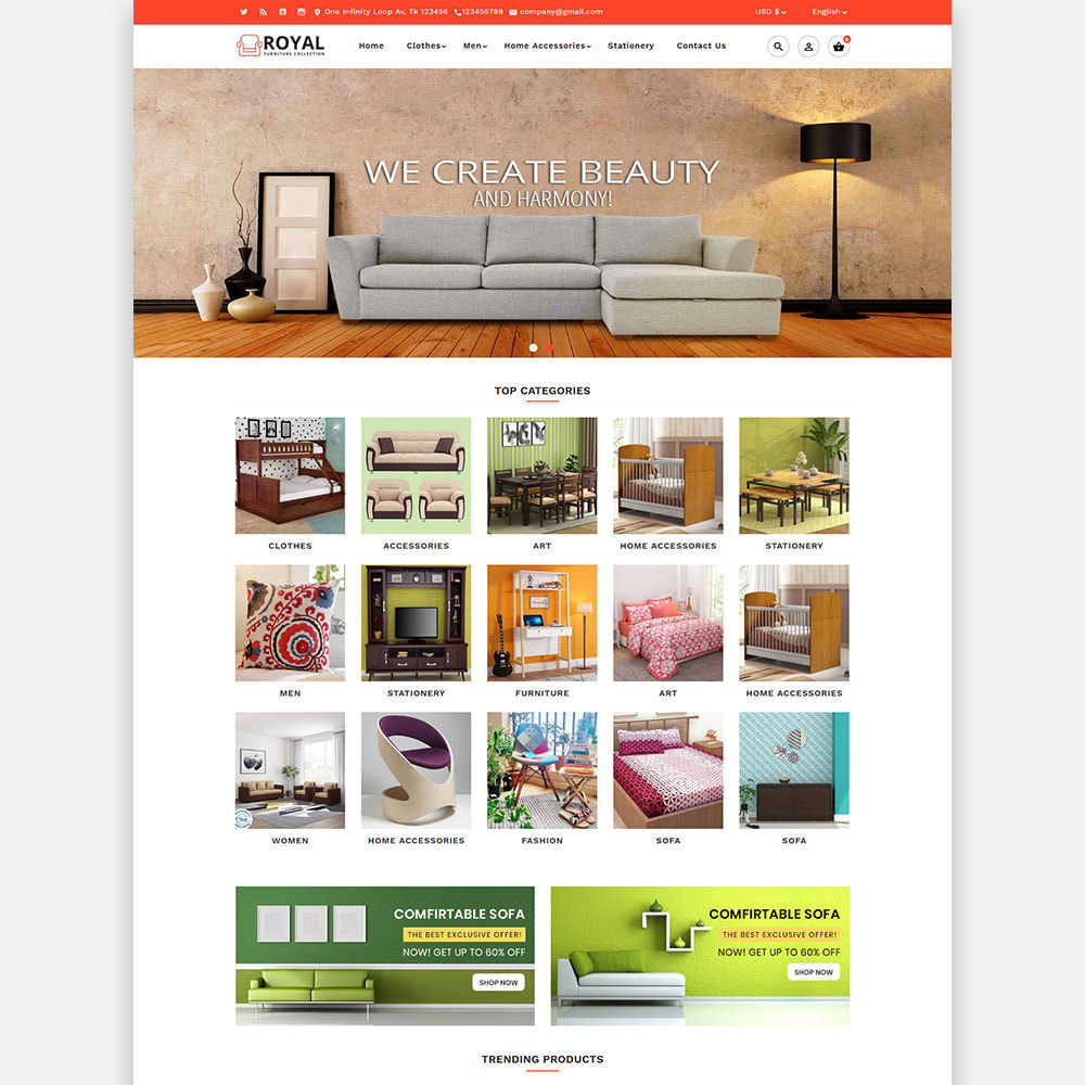 theme - Casa & Giardino - Royal Furniture and Wooden Store - 2