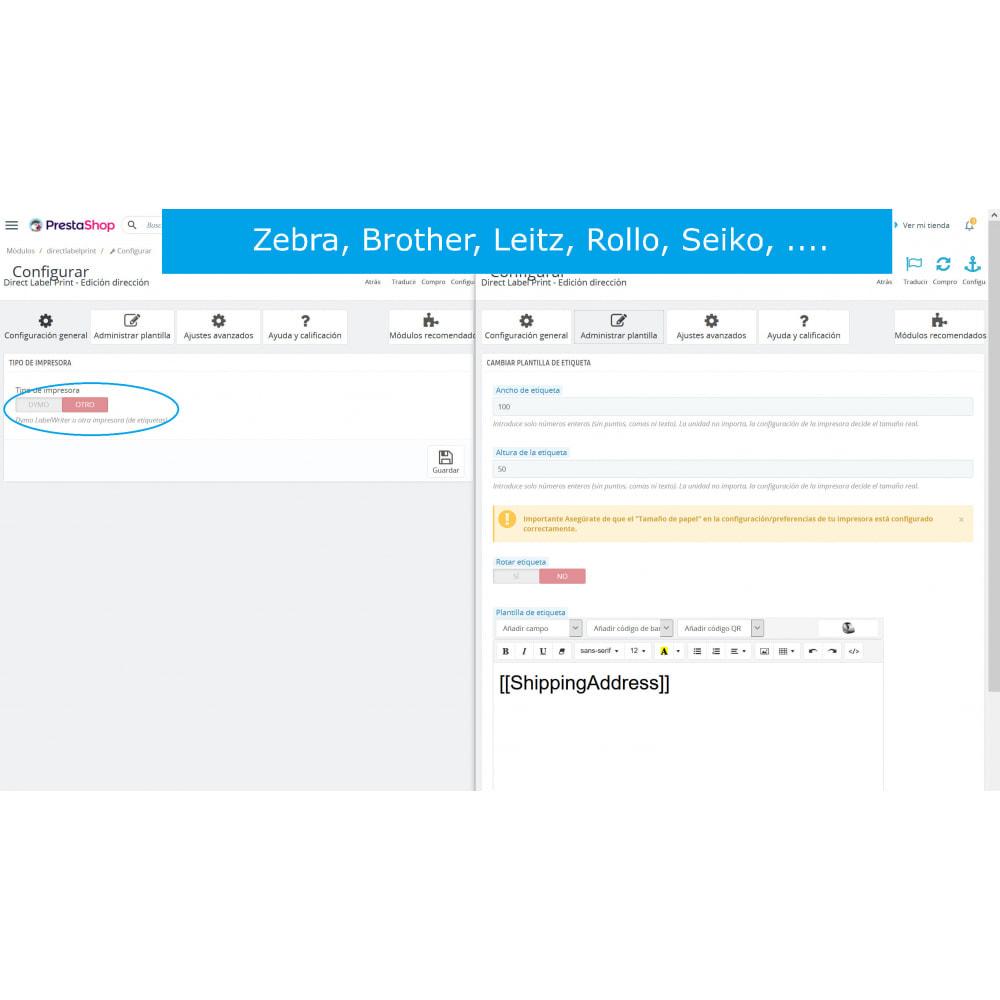 module - Preparación y Envíos - Etiquetas de dirección / pedido - DirectLabelPrint - 7